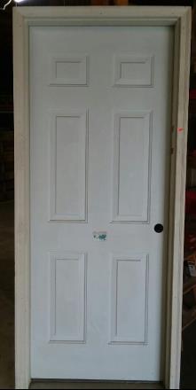 6 Panel Pre-hung Exterior Door