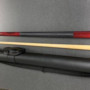 Pool Cue and Case by Gold Crown Billiards