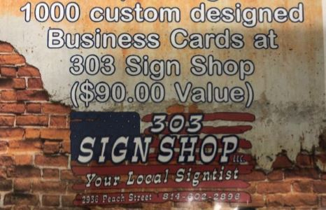 1,000 Custom Business Cards