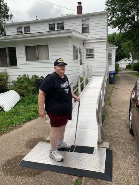 New Ramp Installed In July 2021