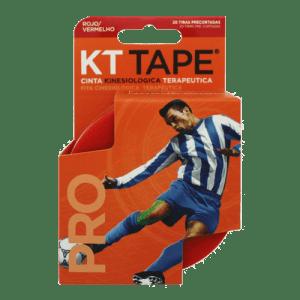 KT Tape Pro ® Rollo Rojo 20 cintas kinesiológicas