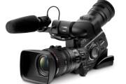 Canon XLH1 professional video camera