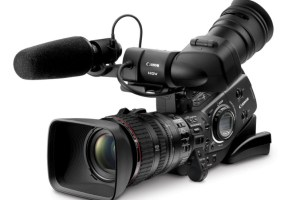 Canon XLH1 professional video camera