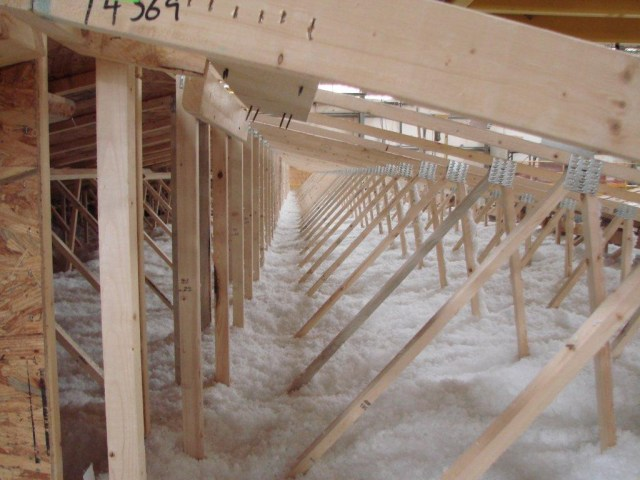 insulation in a mobile home roof