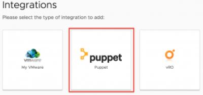 Integrate Puppet