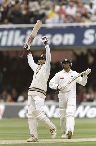 Ganguly on Debut at Lords