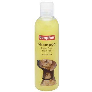 Beaphar Dog Shampoo Aloe Vera Enriched for Brown Coat Pets 250 ml