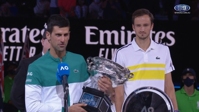 """""""If you don't mind waiting a few years"""" - Djokovic plans more titles"""