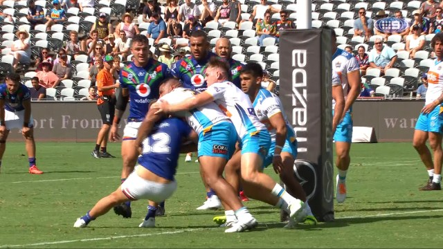 NRL Highlights: Warriors outduel the Titans in round 01