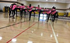 Dance team dominates halftime