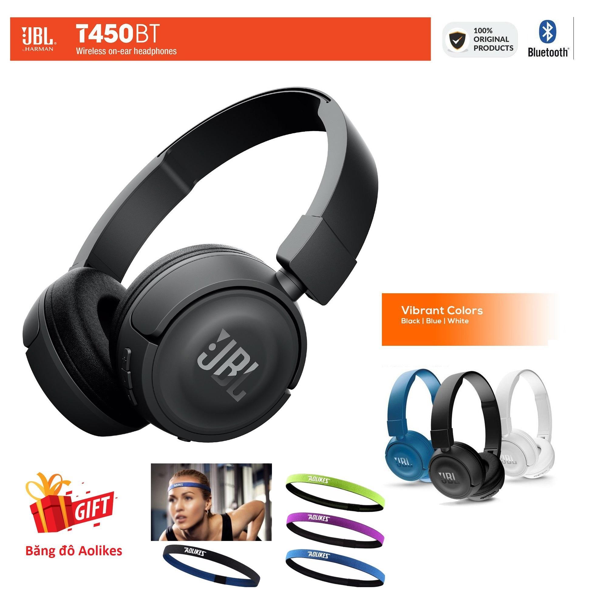 Tai Nghe Bluetooth Chụp Tai JBL T450BT