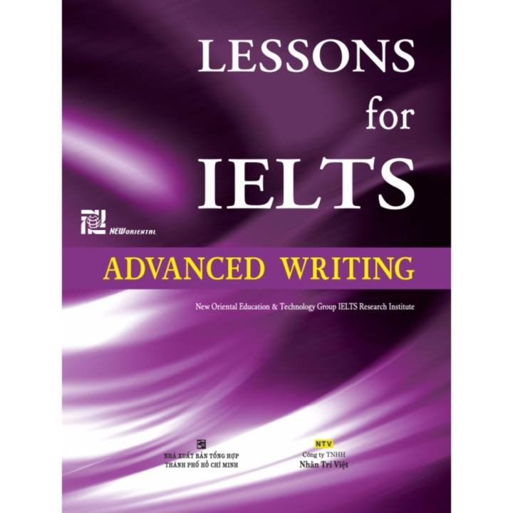 168_Lessons for IELTS advanced writing