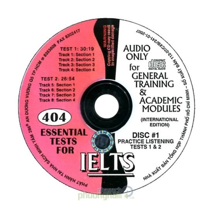 404 Essential Tests For IELTS (CD)