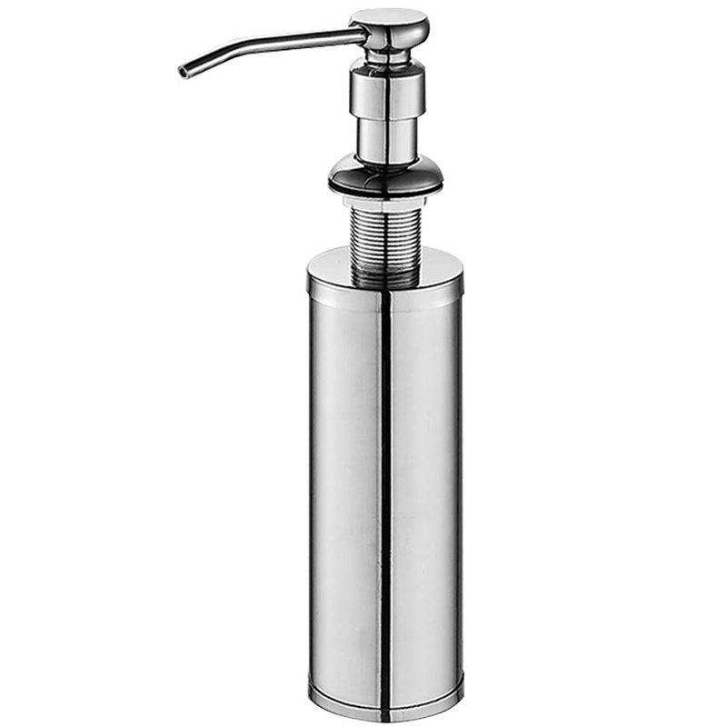 large lzd stainless steel sink soap