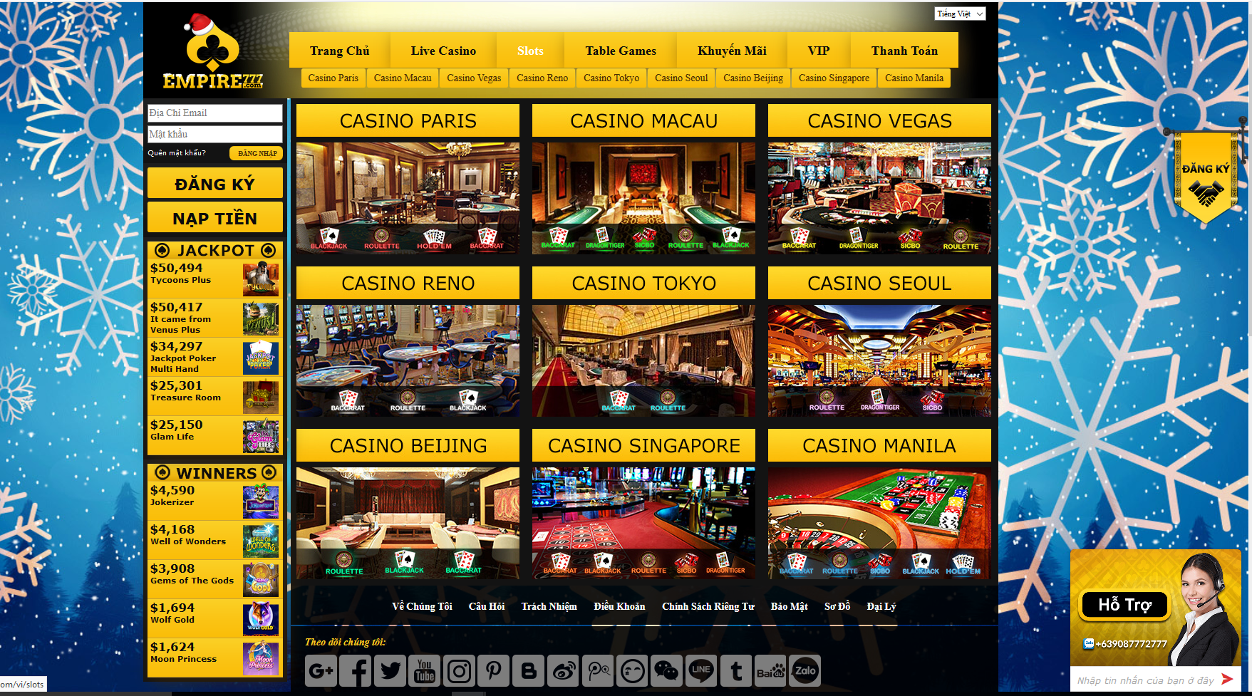 Casino online EMPIRE777