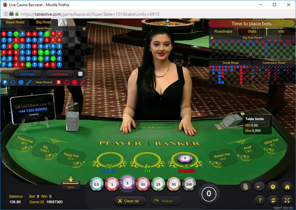 BACCARAT – BÀI CÀO - Danh Bai Casino Empire777