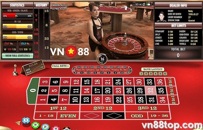 roulette-online-vn88