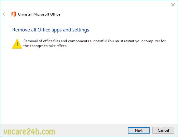 Office 2016 báo lỗi Error Code: 30180-4