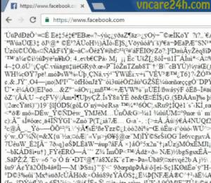 Sửa lỗi Facebook hiển thị mã khi cài đặt Kaspersky Internet Security