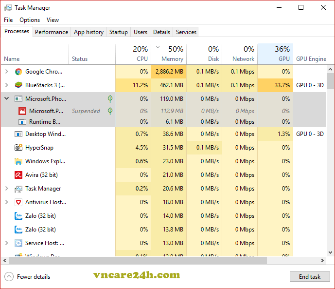 """Sửa lỗi """"Windows cannot find taskmgr.exe"""" sau khi cập nhật Windows 10"""