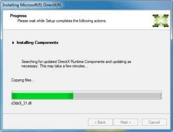 "Sửa lỗi AutoCAD 2012 ""Error :: Please install DirectX..."""