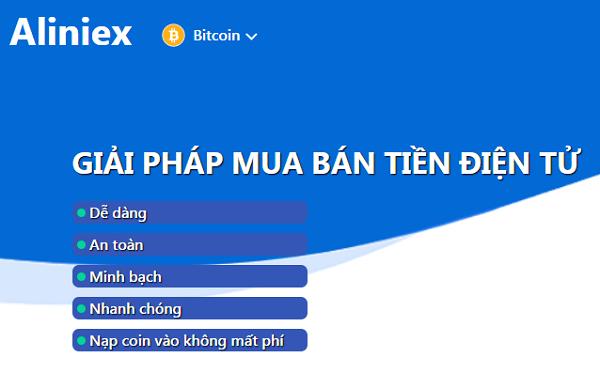 Sàn giao dịch Alinex