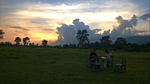 вечер в Непале