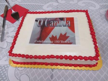 O Canada Cake