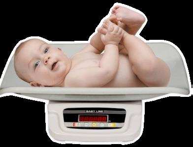Naturally, a baby weighing scale is used during this process to weigh the new-born to give their birth-weight.