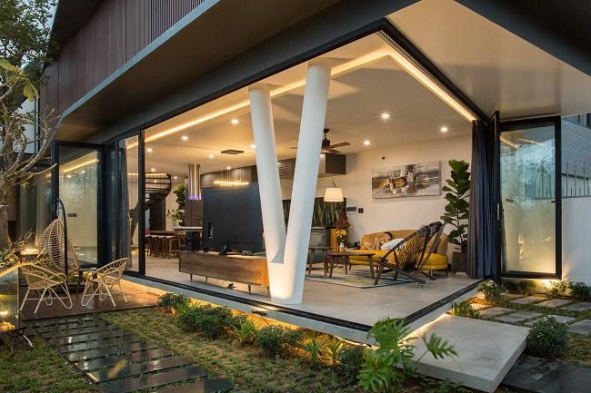 Căn nhà Việt có ngoại hình khúc khuỷu giúp gia chủ tiết kiệm 30% chi phí sinh hoạt - 7