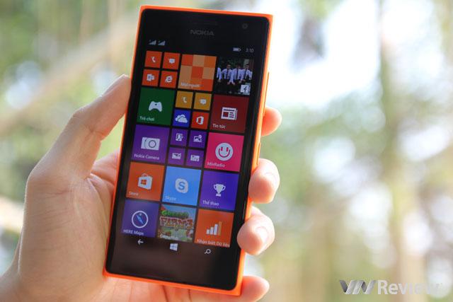 Trên tay Nokia Lumia 730 chính hãng