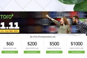 Làm thế nào nhà đầu tư kiếm lợi nhuận với sự kiện Single Day? Chương trình bonus đặc biệt chưa từng có của eToro trong tháng 11