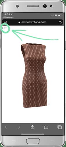 AR Dress in Phone