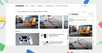 LiteSpot Premium Responsive Blogger Template