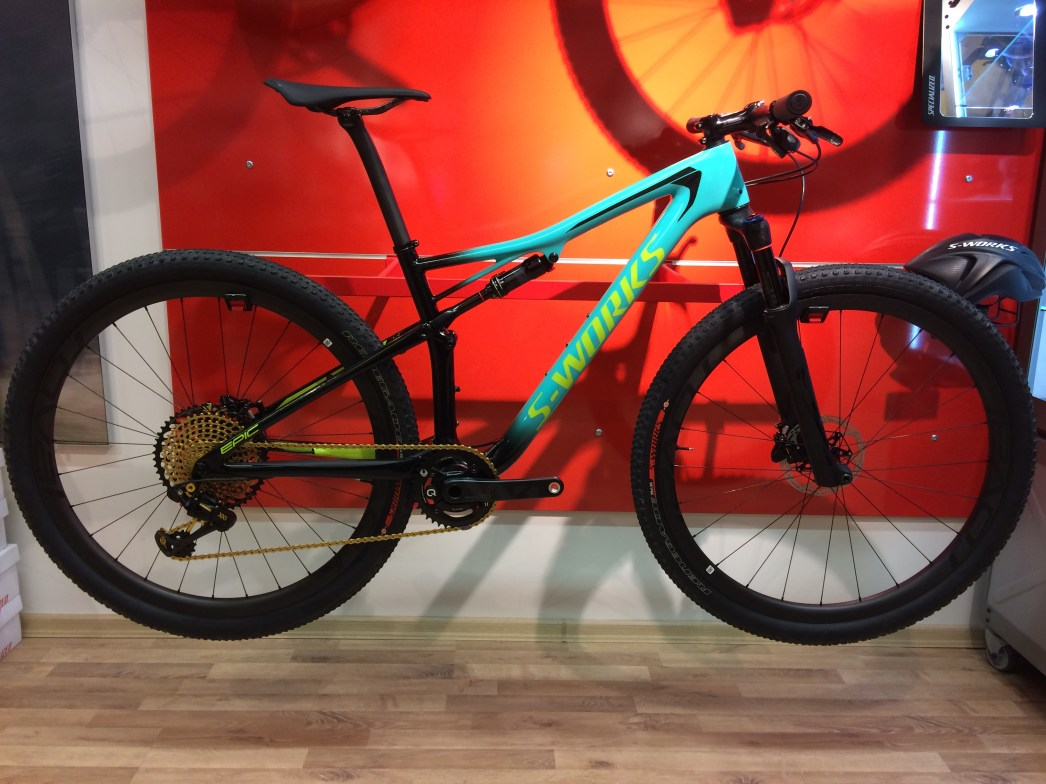 2018 S-Works Epic. 9217g. RaceReady 100%!