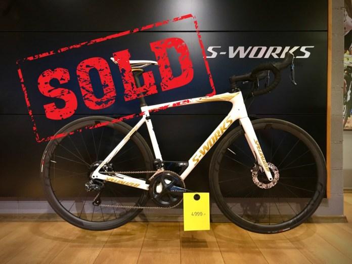 (UUS): S-Works Roubaix: 56-suurus, hind 4999€ (7990€). NB! Karbonjooksud, elektrooniline käiguvahetus.