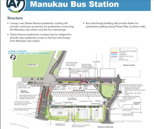 Manukau Interchange MK4 Source of information: Auckland Transport