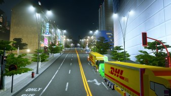 Bus lanes and traffic