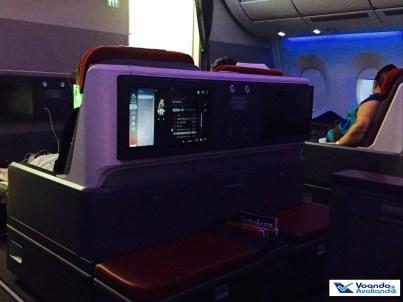 A350 - Assento Business - Diagonal