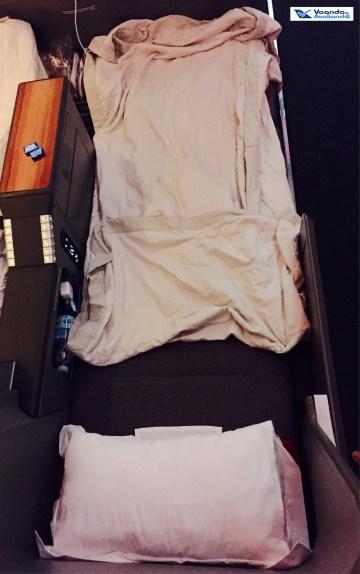 Assento - cama arrumada