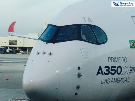 A350 - Visão Frontal