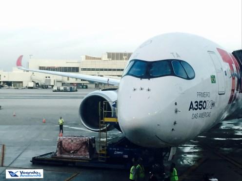 A350 - Frontal com Asa