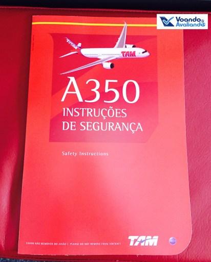 A350 - Cartão de Segurança