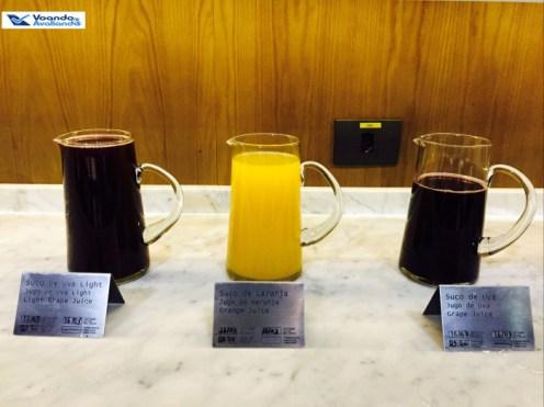 Sala VIP LATAM - GRU bebidas