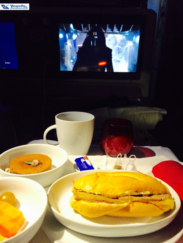 Café da Manhã A350 Star Wars