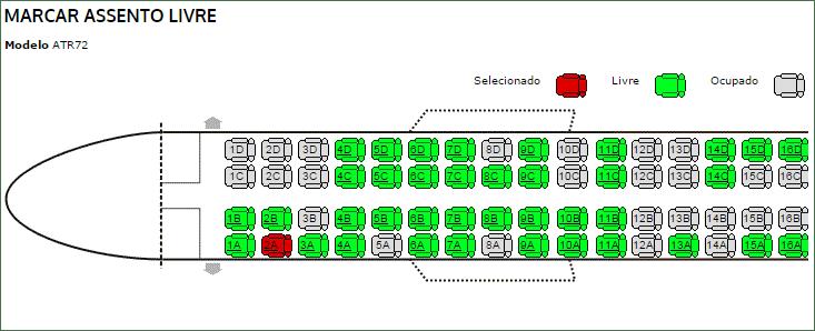 Flyways assentos