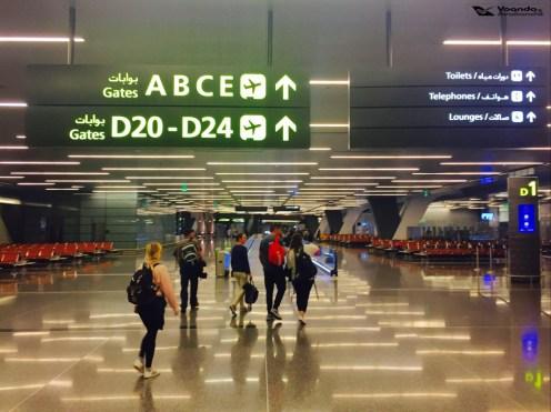 Aeroporto Doha - Corredores