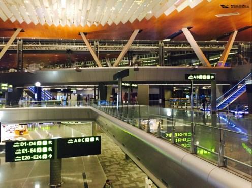 Aeroporto Doha - Visão Andares