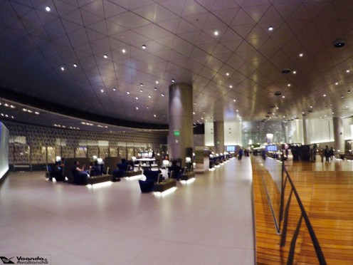 Sala VIP Qatar - Visão Geral