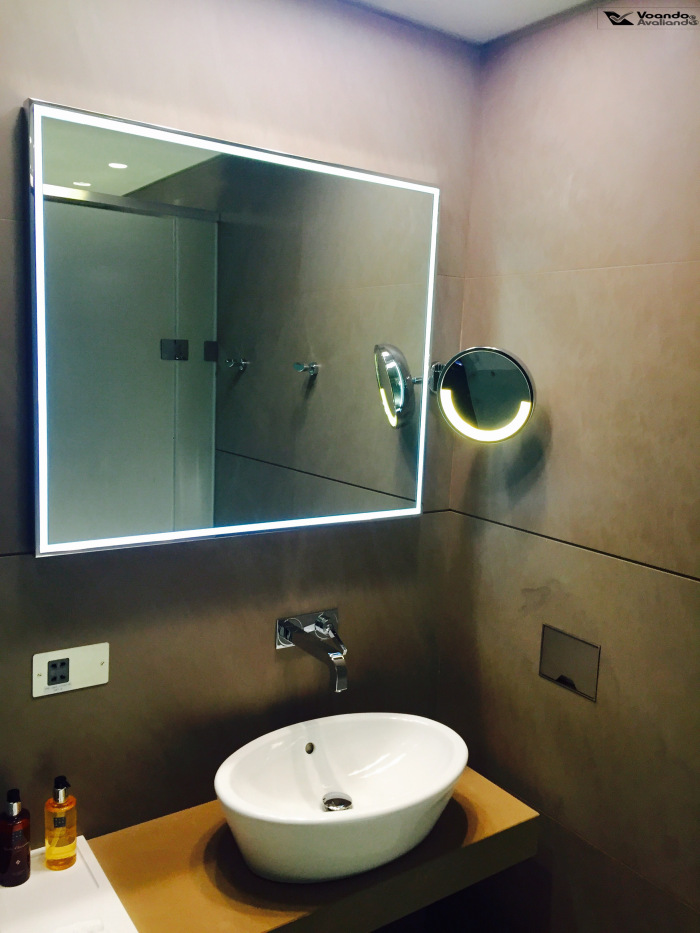 Sala VIP Qatar - Banheiro